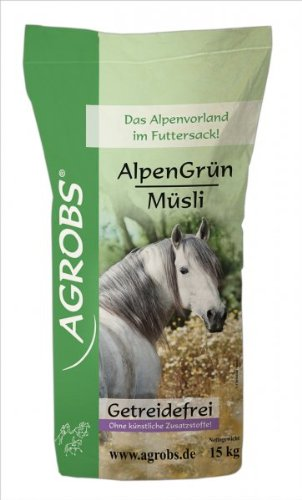 Agrobs AlpenGrün Müsli 15 kg