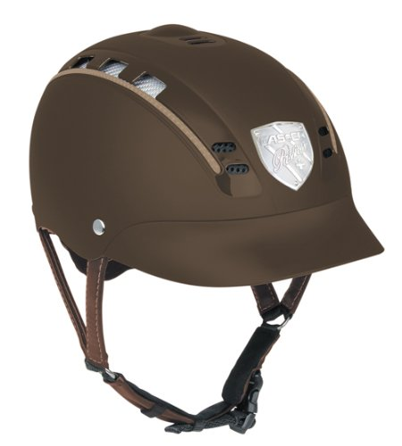 "'Helm CASCO ""Passion + - schwarz matt"