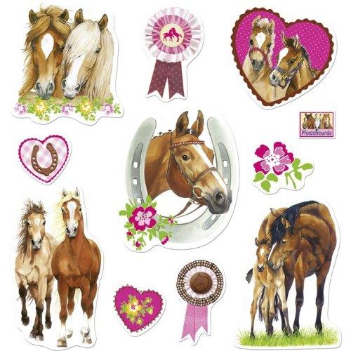 Die Spiegelburg 21448 Sticker Pferdefreunde