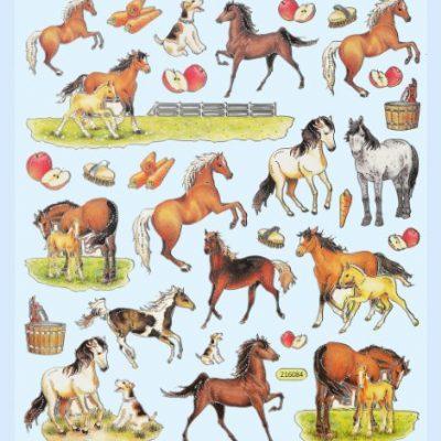 Hobby-Design-Sticker-Pferd-Pferde-Fohlen-Aufkleber-3452315-0