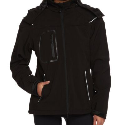James-Nicholson-Damen-Softshelljacke-Winter-black-XL-JN1001-bl-0