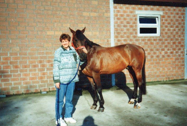 Pferde Foto: Claudia und Bobby – Mein kleiner